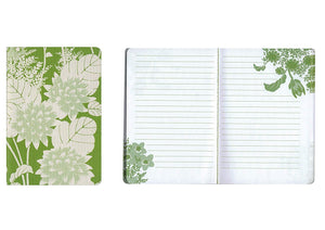"Set of 3 Florence Broadhurst Pocket Journals (Spot Floral) - 96 Lined Pages in each Notebook - 4.25"" x 6.125"" Notepad Size"