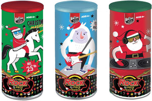 B-THERE Bundle of 3 Christmas Holiday Theme 24 Piece Jigsaw Puzzle for Children 6+, Santa, Unicorn, Abominable Snowman