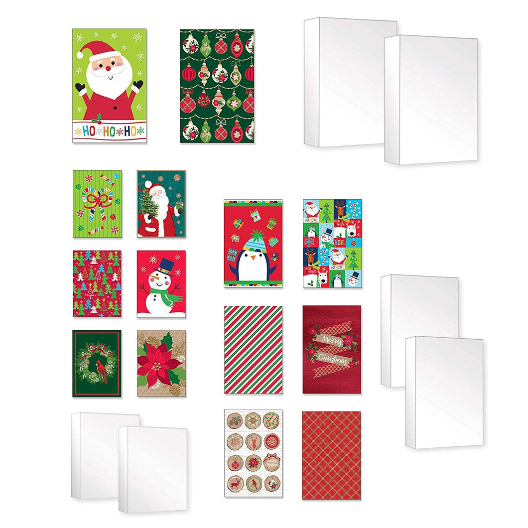 Bundle of 20 Assorted Gifting Boxes for Christmas Gift Boxes 20ct Xmas Supplies
