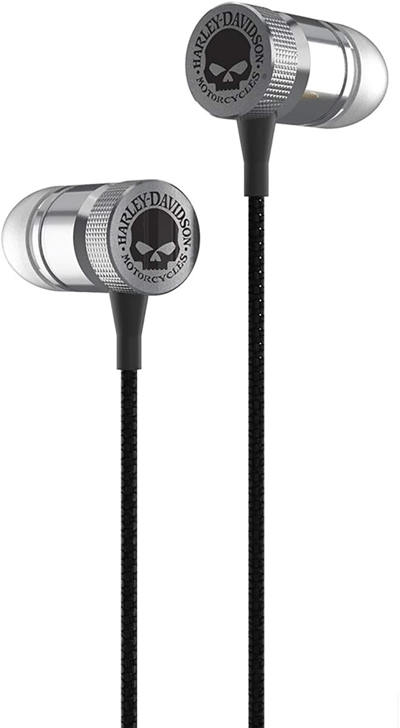 Harley-Davidson Venture Willie G Skull High Definition Earbuds