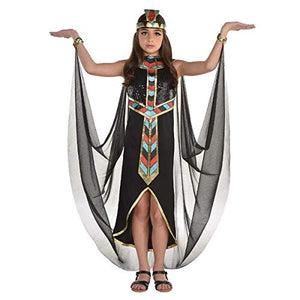 Dark Cleopatra Girl's Costume, Size: Small, fits 4-6