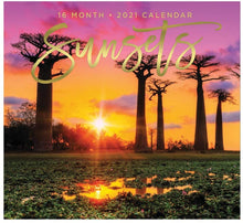 Load image into Gallery viewer, 2021 Full-Size Wall Calendar, 16-Month