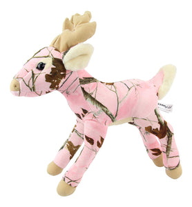 Pink Camo Realtree Deer 18 Inch Animal Camouflage Stuffed Animal Soft Plush