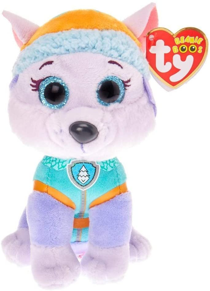 Ty Pat' Patrol Small-Everest TY41300 Soft Toy, Multi-Coloured