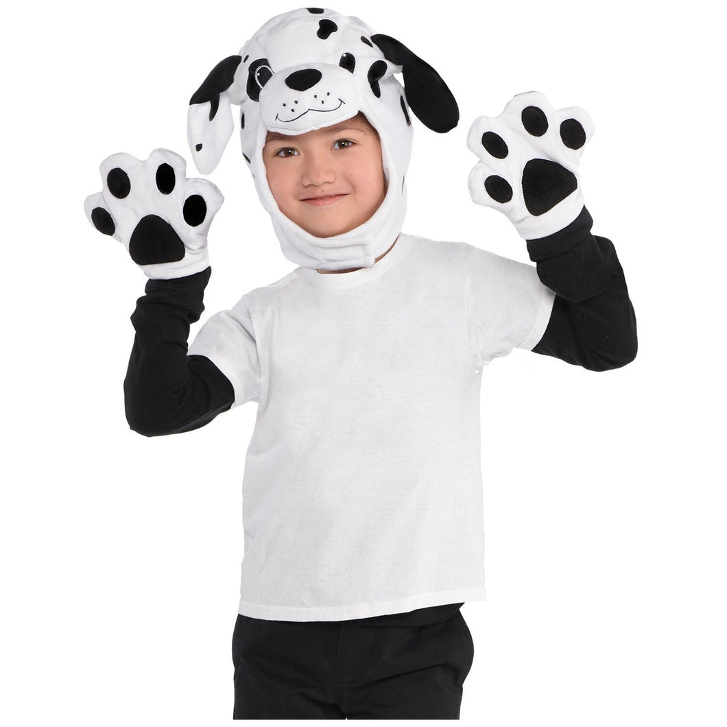 Amscan Dalmation Accessory Kit - Child Black, White