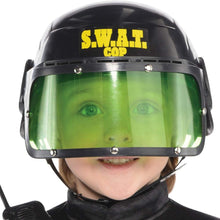 Load image into Gallery viewer, amscan Boys Swat Cop Costume - Small (4-6), Multicolor