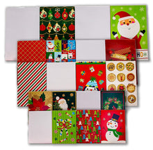 Load image into Gallery viewer, Bundle of 20 Assorted Gifting Boxes for Christmas Gift Boxes 20ct Xmas Supplies