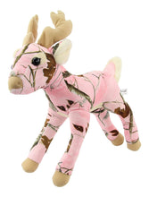 Load image into Gallery viewer, Pink Camo Realtree Deer 18 Inch Animal Camouflage Stuffed Animal Soft Plush