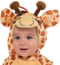 Load image into Gallery viewer, amscan Junior Giraffe Infant Costume