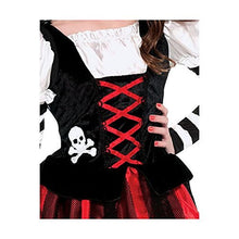 Load image into Gallery viewer, amscan Pirate Crossbone Cutie Costume - Medium