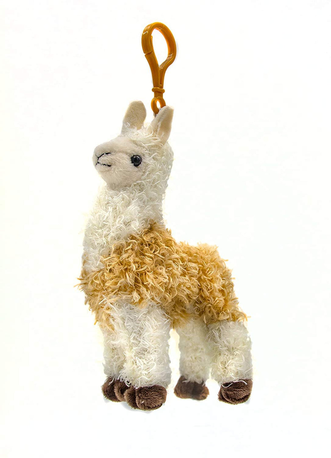 B-KIDS Llama Stuffed Animal Plush and Keychain Set