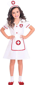 amscan Girls Darling Nurse Costume Kit- Medium (8-10)