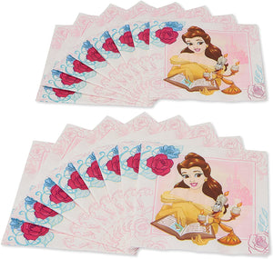 American Greetings Beauty and the Beast, Lunch Napkins, 16-Count