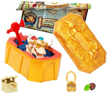 Load image into Gallery viewer, B-THERE Treasure X Kings Gold (2 Pack) with 4 Pencil Fidgets