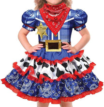 Load image into Gallery viewer, amscan Child Rodeo Cutie Cowgirl Costume
