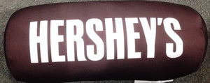 "Sweet Novelty Hershey's 12 x 5"" Embroidered Plush Lumbar Travel Pillow"