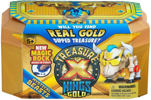 B-THERE Treasure X Kings Gold (2 Pack) with 4 Pencil Fidgets