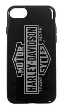 Load image into Gallery viewer, HARLEY-DAVIDSON Venture Vertical B&S Logo iPhone 7/8 Phone Case, Black 9508