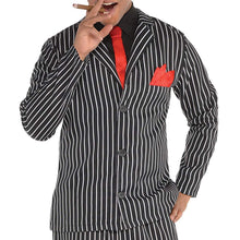 Load image into Gallery viewer, Amscan Adult Mob Boss Costume - Large (42-44), Black