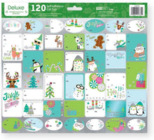 Load image into Gallery viewer, Paper Craft Deluxe Holiday Self Adhesive Gift Labels - 120 Count - Juvenile