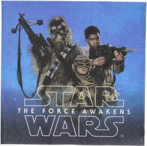 Star Wars Episode VII Beverage Napkin, Party Favor
