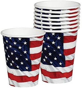 Flying Colors Party Cups, 9 oz., 8 Ct.
