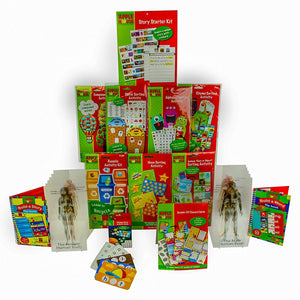 Bundle of Children's Educational Activity Kits, Ages 6-8