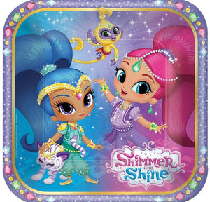 Shimmer and Shine Plate (S) 8ct [Contains 5 Manufacturer Retail Unit(s) Per Amazon Combined Package Sales Unit] - SKU# 541653
