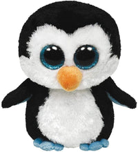 "Load image into Gallery viewer, Ty Beanie Boos Waddles Penguin 16"" Plush, Large"