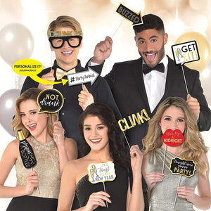New Year's Eve Photo Booth Props 13ct