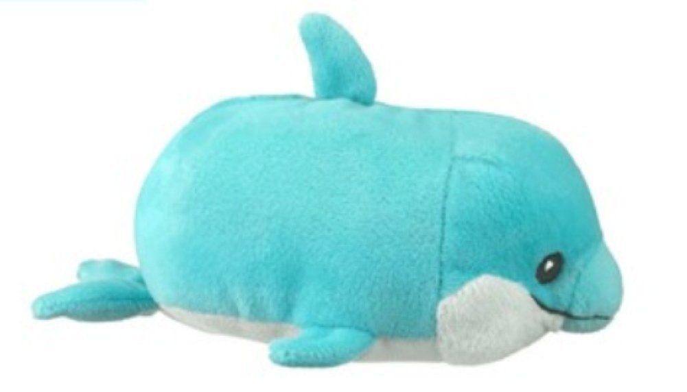 Dolphin Huba by Wildlife Artists, one of the adorable plush Hubas line, 5.5