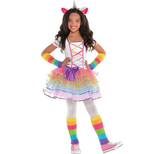 Load image into Gallery viewer, Rainbow Unicorn Child Costume - Large