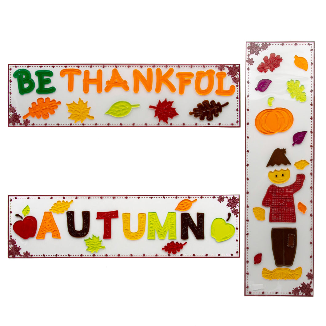 B-THERE Bundle of 3 Autumn Harvest Fall Decorations 5.5