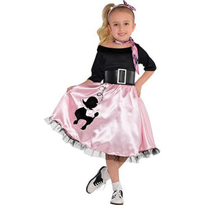 amscan Miss Sock Hop | Fashionable 40s | Toddler (3-4)