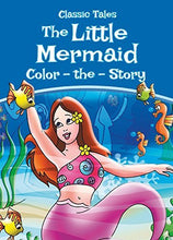 "Load image into Gallery viewer, Coloring Activity Book Pack – 4 Classic Tales: ""Beauty and the Beast"", ""The Little Mermaid"", ""Pinocchio"" & ""Snow White and the Seven Dwarfs"" Color-the-Story Early Education Kids, Toddlers, Preschool"