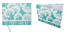 "Florence Broadhurst Japanese Floral Guest Book - 96 Ruled Pages. Daily Notebook Journal Size: 10.25"" X 7.75"" Notepad"
