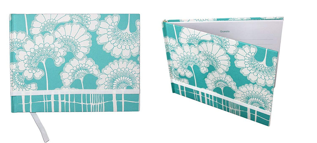 Florence Broadhurst Japanese Floral Guest Book - 96 Ruled Pages. Daily Notebook Journal Size: 10.25