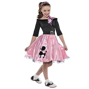 amscan Miss Sock Hop | Fashionable 40s | Small (4-6)