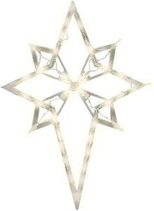 "Impact Innovations 22"" Lighted Star of Bethlehem Christmas Window Silhouette Decoration ASIN: B000WZL5GQ View on Amazon, Cross"