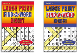 Digest Word Search Books Large Print Easy Read