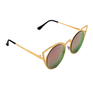 B-THERE Fashion Sunglasses Women Brand Designer Cat Eye Sun Glasses Vintage Woman