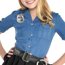 Load image into Gallery viewer, amscan Girls Officer Cutie Cop Costume - Toddler (2)