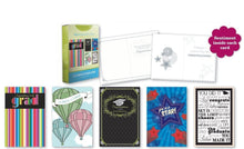 Load image into Gallery viewer, 20PK BOXED GRADUATION CARDS Bulk WITH SENTIMENT – COLLEGE ELEMENTARY GRAD