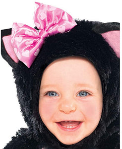 amscan Itty Bitty Kitty Girls Infant Costume