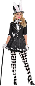 amscan Costumes USA Dark Mad Hatter Adult Wonderland Costume