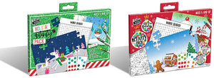 B-THERE Bundle of 2 Xmas Activity Packs, Christmas Activity Pack. Filled with Fun Activities for The Holidays