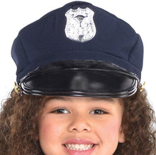 Load image into Gallery viewer, Amscan 848443 Girls Classic Police Officer Costume - Toddler (3-4)