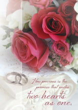 Load image into Gallery viewer, Wedded Bliss KJV Scripture Greeting Cards - Boxed