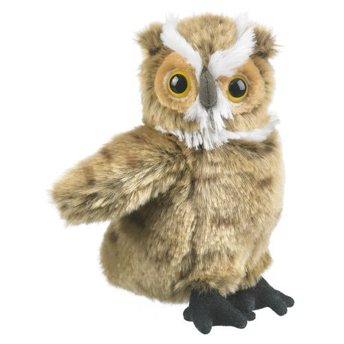 Great Horned Owl Plush Toy 7