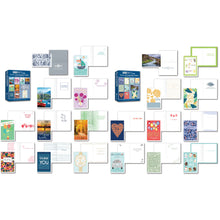 Load image into Gallery viewer, B-THERE All Occasion Greeting Cards Assortment Box Sets with Sentiment Inside 20 Pack